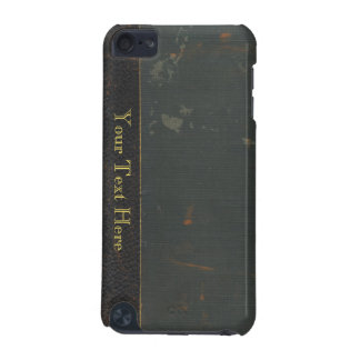 Retro antique canvas book cover, leather bound iPod touch 5G cases