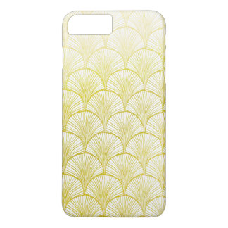 Retro Art Deco Gold Fan iPhone 7 PLUS + Case