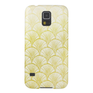 Retro Art Deco Golden Fan Samsung Galaxy S5 Case