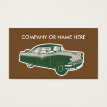 459 retro car business cards and retro car business card templates 459 retro car business cards and retro car business card templates zazzle reheart Image collections