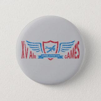 Retro Aviation Fictional Logo - Button