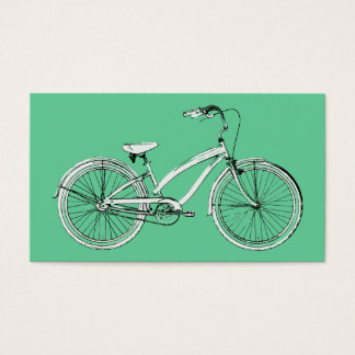 retro bicycle business card
