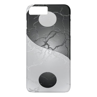 Retro Black and White Yin and Yang iPhone 8 Plus/7 Plus Case