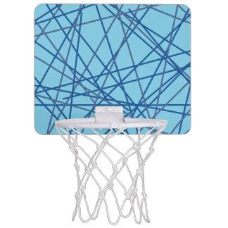 Retro Blue 90s Basketball Hoop