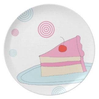 Retro Cake plate