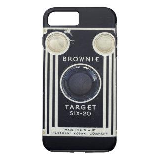 Retro camera brownie target. iPhone 8 plus/7 plus case