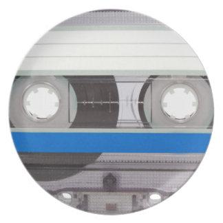 Retro Cassette Tape Party Plate