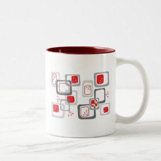 Retro Cherry Red  Mug