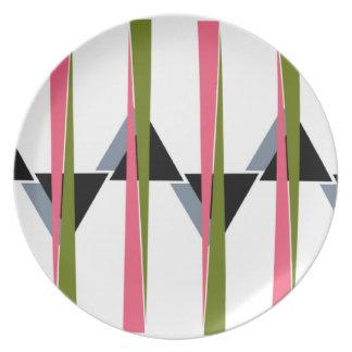 Retro Colors Plate