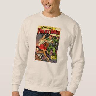Retro Comic Book Cover Pullover Sweatshirt