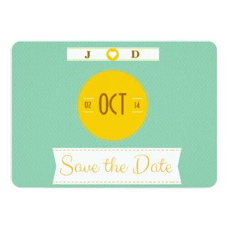"Retro design ""Save the Date"" Wedding Invitations"