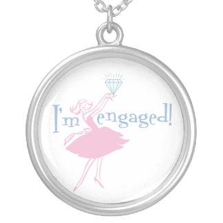Retro Engaged Necklace