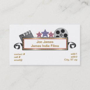 Film producer business cards zazzle nz retro film producer business card colourmoves
