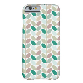 Retro Floral Patterned Case Barely There iPhone 6 Case