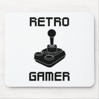 Retro Gamer Mouse Pad