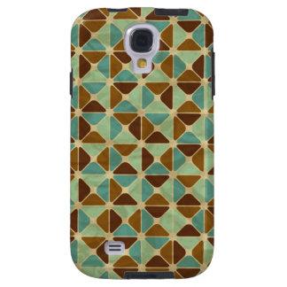 Retro geometric pattern galaxy s4 case