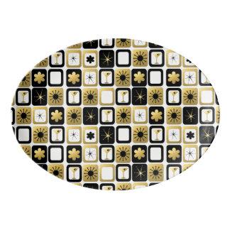 Retro Glamorous Gold Platter