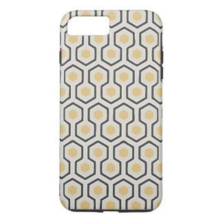 Retro Honeycomb Pattern Beehive iPhone 8 Plus/7 Plus Case