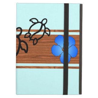Retro Honu Surfboard Cover For iPad Air