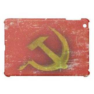 Retro iPad skin with Dirty Old Soviet Union Flag iPad Mini Case