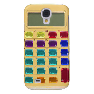 Retro Jeweled Calculator Galaxy S4 Case