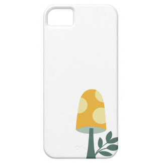 Retro kawaii cute magic mushroom design iPhone 5 cover