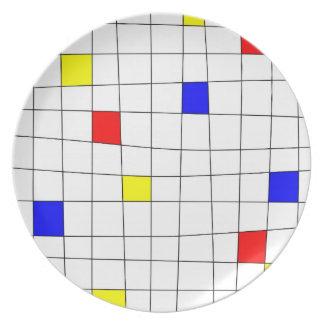 Retro Line Plate