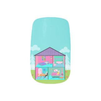 Retro Living Dollhouse Minx Nail Stickers