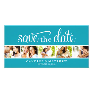 RETRO LOVE   SAVE THE DATE ANNOUNCEMENT CARD