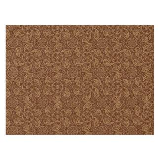 Retro mandala pattern tablecloth