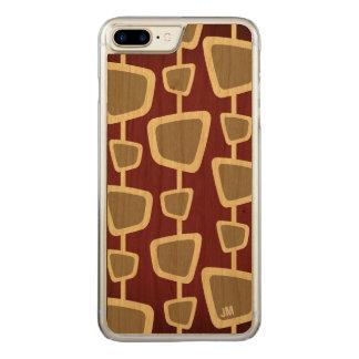Retro Modern Monogram iPhone 8 Plus/ 7 Plus Case