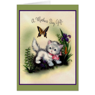 Retro Mother's Day Gift Greeting Card