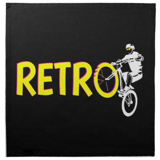 Retro Mountain bike Napkin