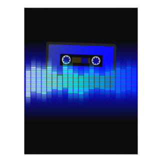 Retro Music 21.5 Cm X 28 Cm Flyer