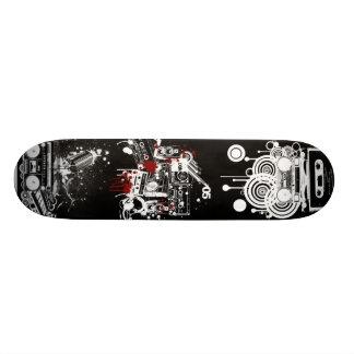 Retro Music Deck 20 Cm Skateboard Deck