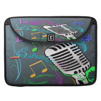 Retro Music Macbook Pro Sleeve