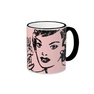Retro Never a Bride Mug