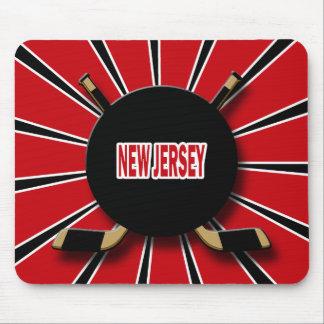 RETRO NEW JERSEY HOCKEY MOUSE PAD