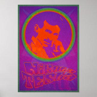 Retro Nikola Tesla Poster
