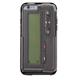 Retro Pager iPhone 6 case Tough iPhone 6 Case
