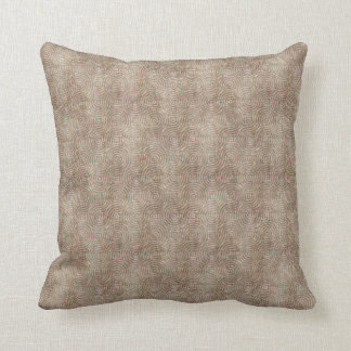 Retro Pattern Pink Grunge Cushion