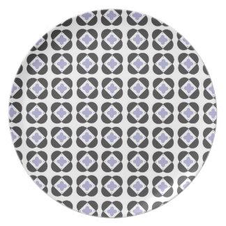 Retro Pattern Plate