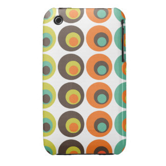 Retro polka dots iPhone 3 covers