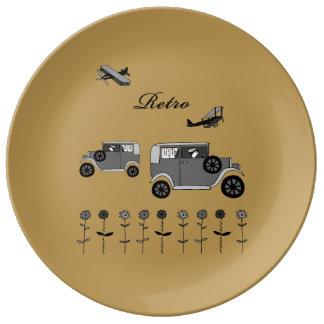 Retro Porcelain Plate