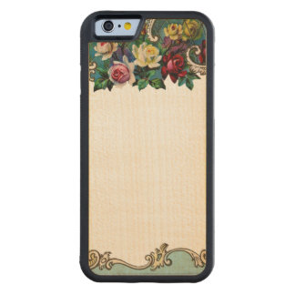 RETRO REBEL Customisable Floral iPhone 6 Bumper Maple iPhone 6 Bumper Case