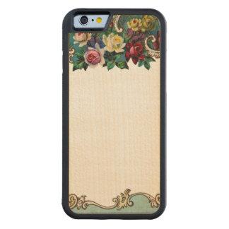 RETRO REBEL Customisable Floral iPhone 6 Bumper Maple iPhone 6 Bumper