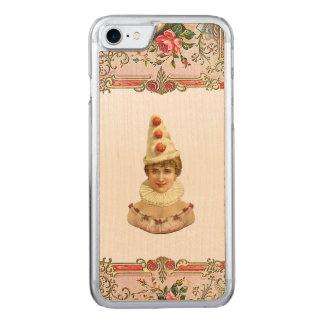 RETRO REBEL Pretty Pierrot Woman iPhone 5/5S Slim Carved iPhone 8/7 Case