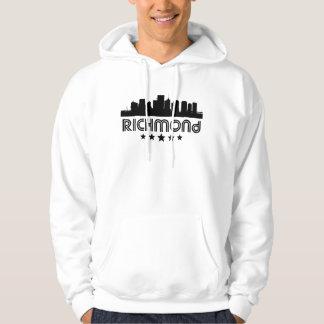 Retro Richmond Skyline Hoodie