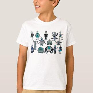 Retro Robot lover for Kids! Fun, cute & cool! T-Shirt