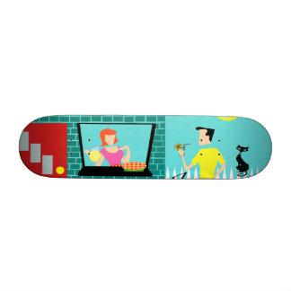 Retro Saturday Morning Skateboard